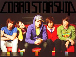 Free Cobra Starship Screensaver Download